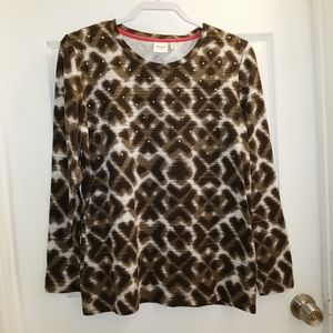 Rafaella Weekend l/s top NWT